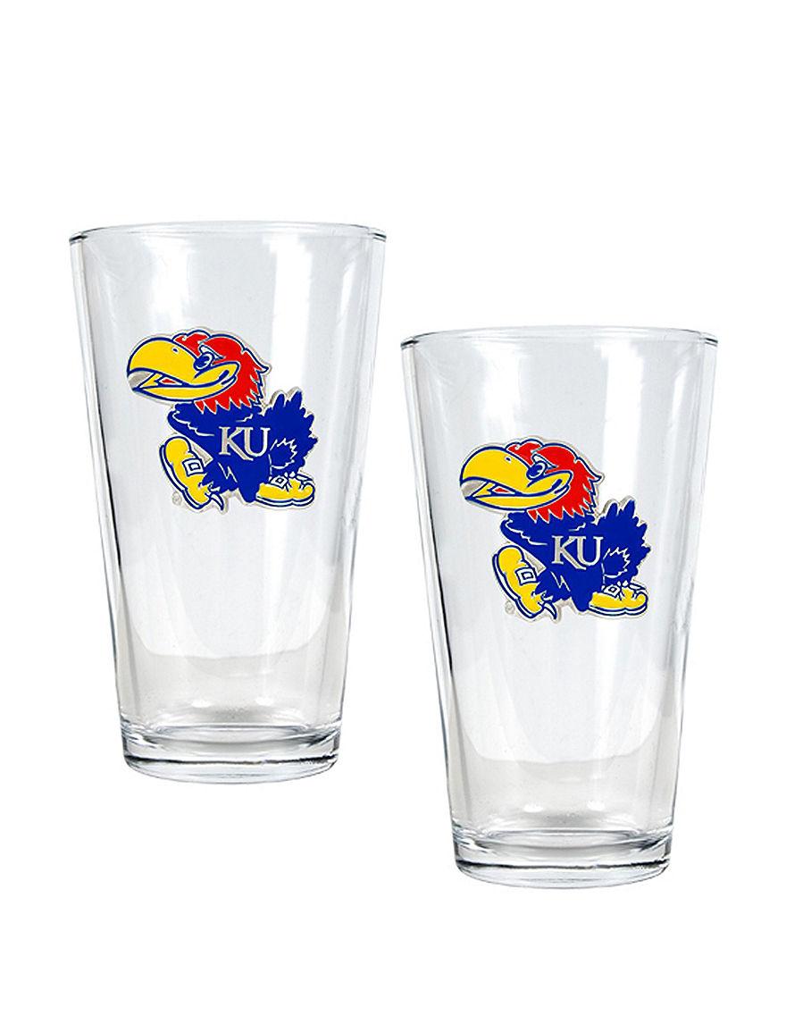 NCAA Clear Beer Glasses Drinkware Sets Everyday Cups & Glasses Mugs Drinkware NCAA