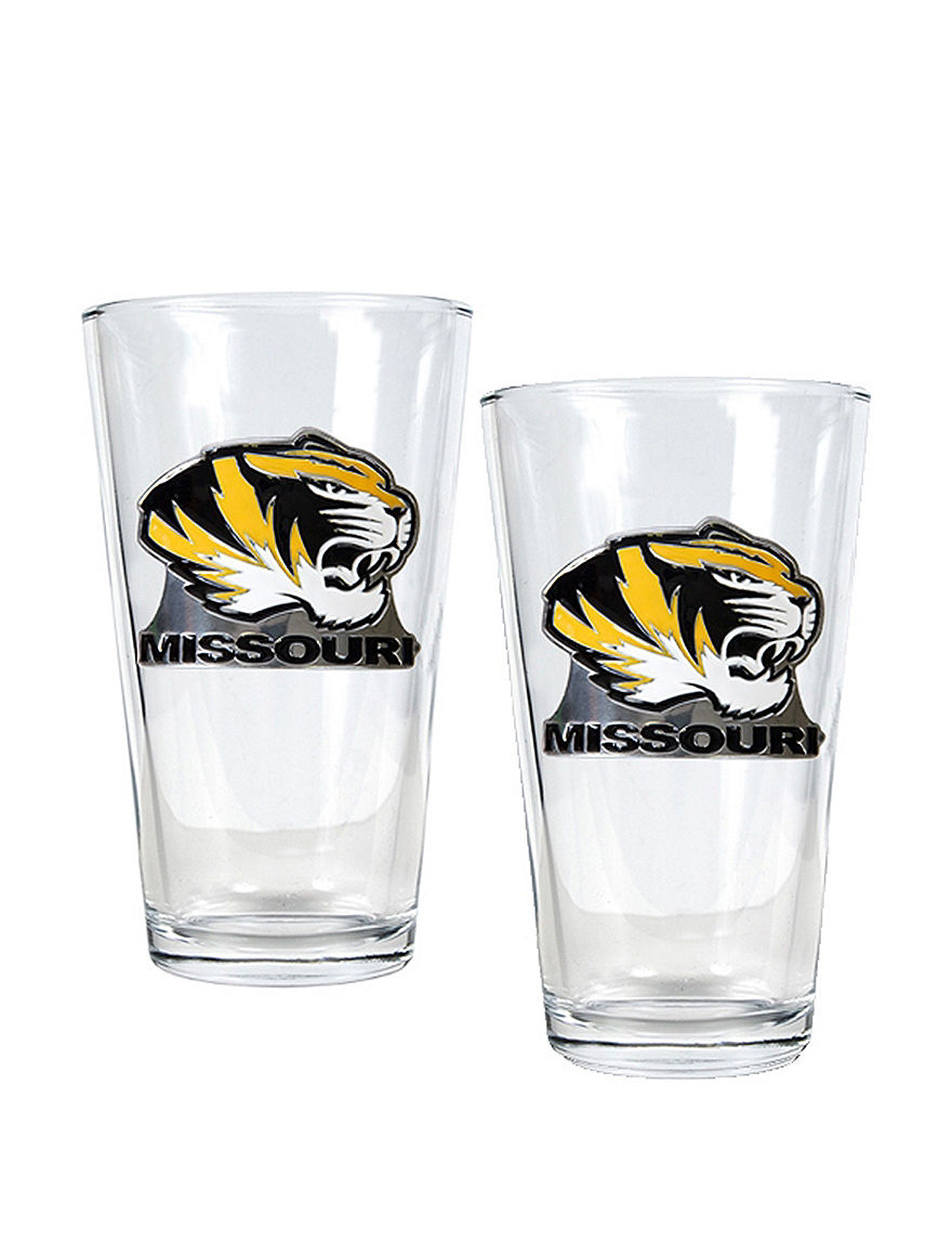 NCAA Clear Beer Glasses Drinkware Sets Everyday Cups & Glasses Bar Accessories Drinkware NCAA