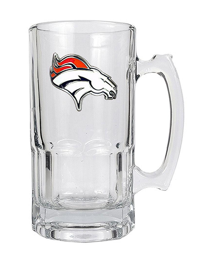 NFL Clear Beer Glasses Mugs Bar Accessories Drinkware NFL