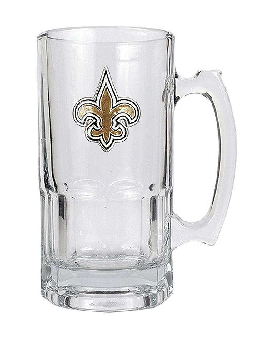 NFL Clear Beer Glasses Mugs Drinkware NFL