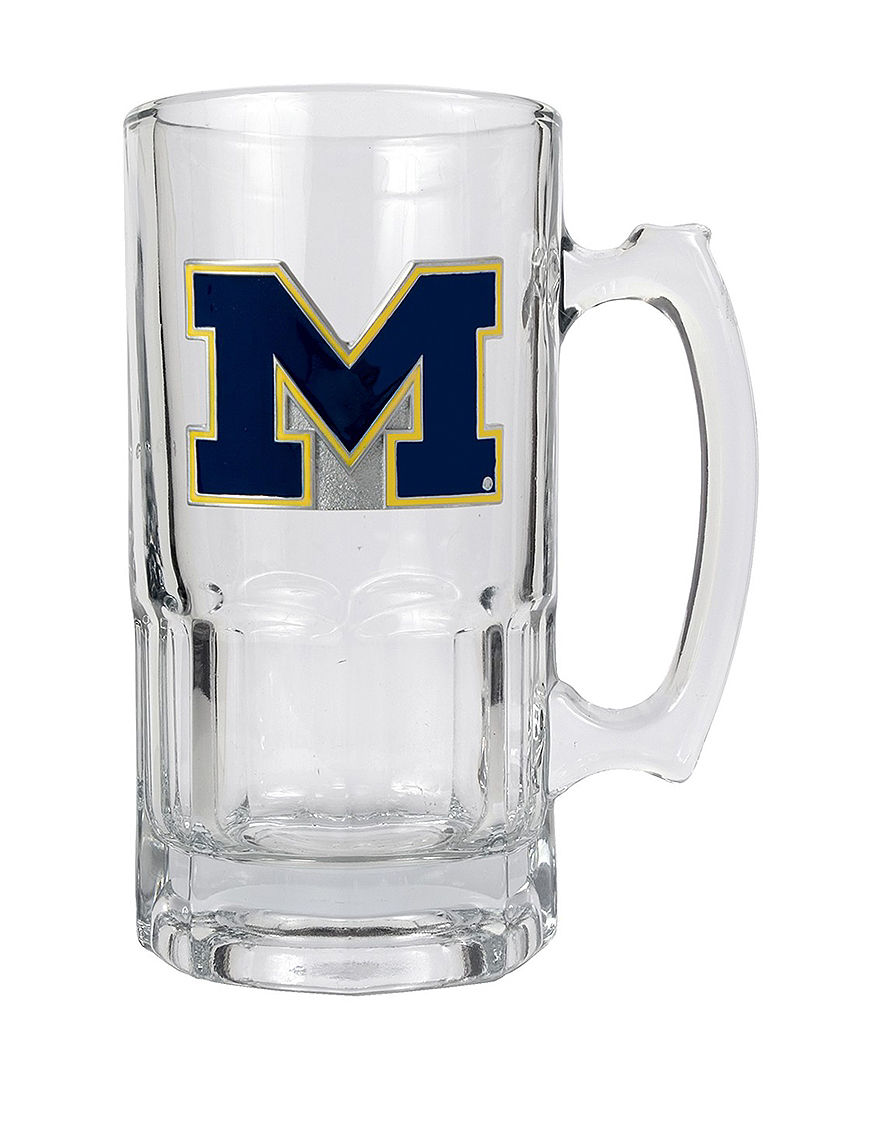NCAA Clear Mugs Drinkware
