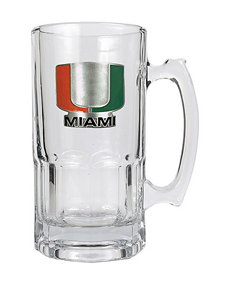 NCAA Clear Mugs