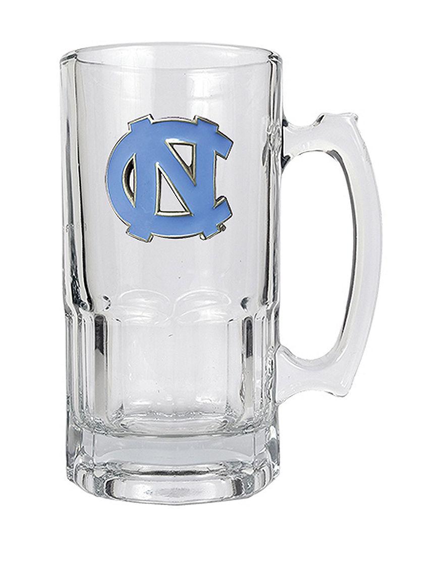 NCAA Clear Beer Glasses Mugs Bar Accessories Drinkware NCAA