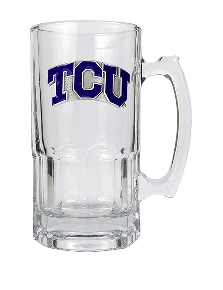 NCAA Clear Beer Glasses Mugs Drinkware NCAA