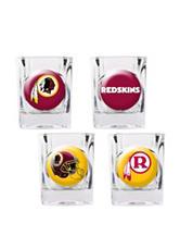 Washington Redskins 4-pc. Collectors Shot Glass Set