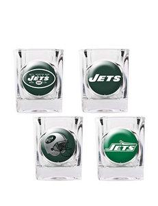 New York Jets 4-pc. Collectors Shot Glass Set