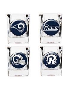 St. Louis Rams 4-pc. Collectors Shot Glass Set
