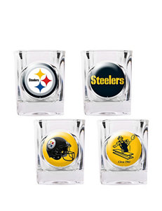 Pittsburgh Steelers 4-pc. Collectors Shot Glass Set