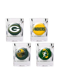 Green Bay Packers 4-pc. Collectors Shot Glass Set
