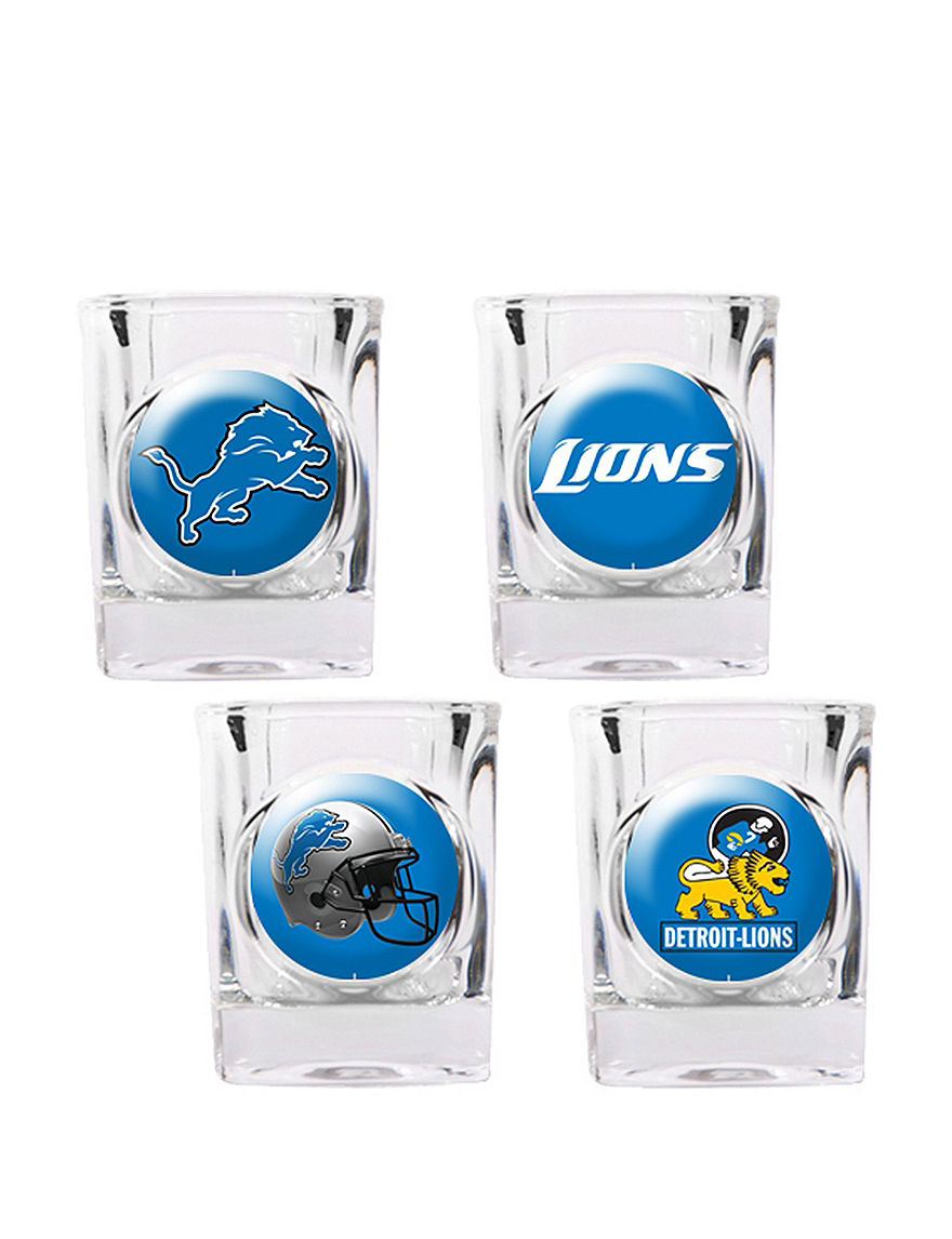 NFL Clear Cocktail & Liquor Glasses Drinkware Sets Bar Accessories Drinkware NFL
