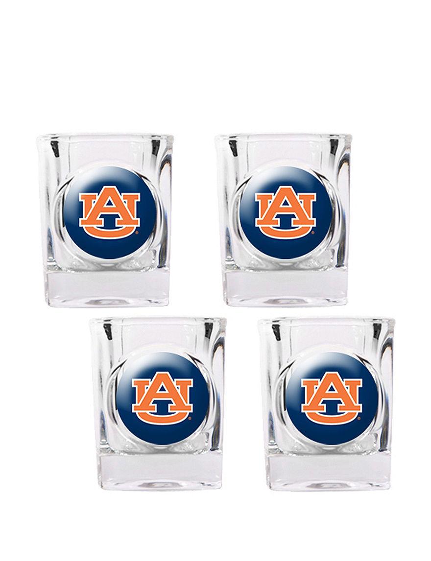 NCAA Clear Cocktail & Liquor Glasses Drinkware Sets Drinkware NCAA