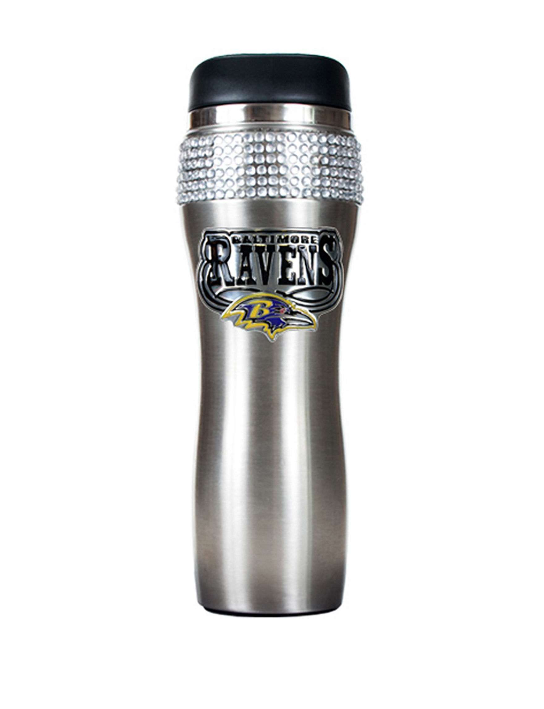 NFL Silver Tumblers Drinkware NFL