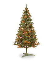National Tree Company 6-ft. Canadian Grande Fir Tree With Multicolor Lights