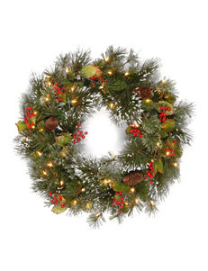 National Tree Company 24 Inch Crestwood Spruce Tree With Clear Lights