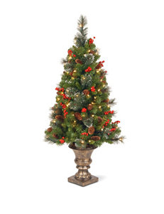 National Tree Company 4-ft. Crestwood Spruce Entrance Tree With Clear Lights