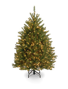 National Tree Company  4.5-ft. Dunhill Fir Tree With Clear Lights