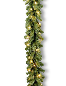 National Tree Company 9ft. Kincaid Spruce Garland With Clear Lights