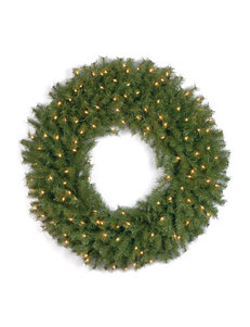 National Tree Company 36 inch Norwood Fir Wreath With Clear Lights