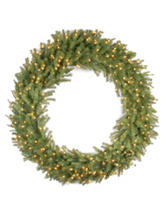 National Tree Company 60 Inch Norwood Fir Wreath With Clear Lights