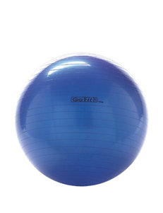 GoFit 65-cm Blue Exercise Ball With Pump