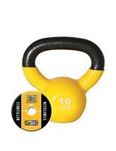 GoFit® 10-lb. Yellow Kettlebell