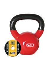 GoFit® 15-lb. Red Kettlebell
