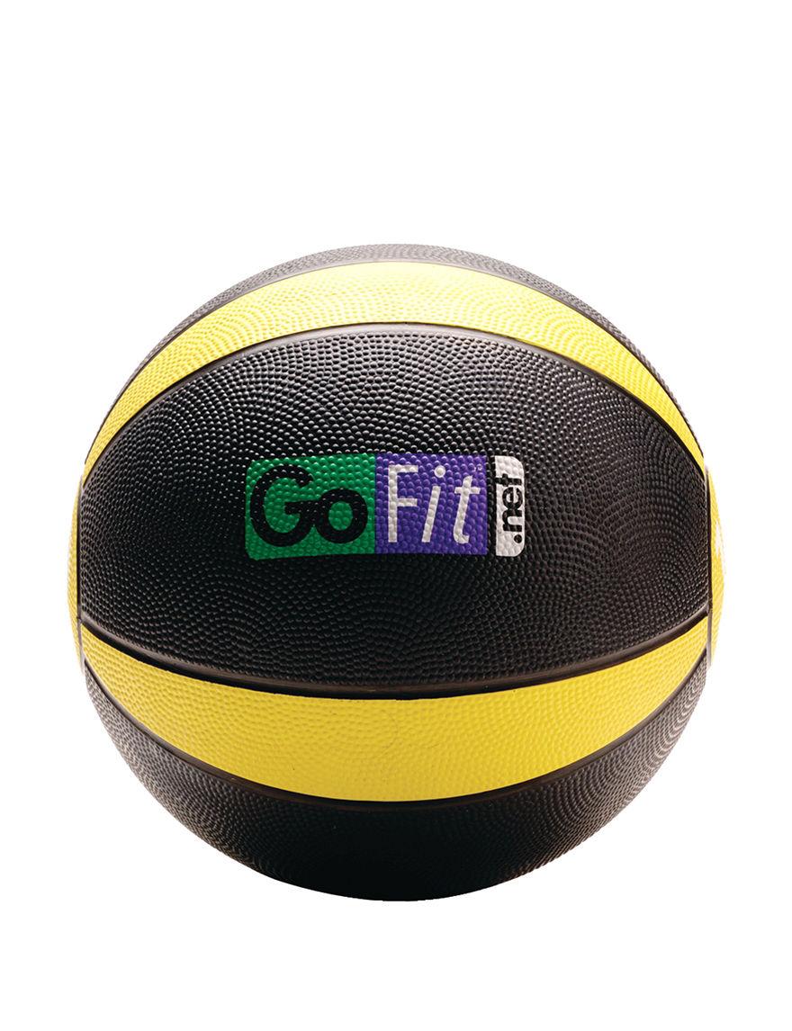 GOFIT Black / Yellow Fitness Equipment