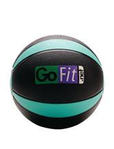 GoFit® 4-lb Black & Green Medicine Ball