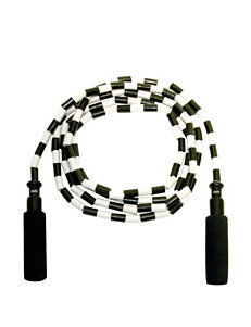 GoFit Black & White Beaded Jump Rope