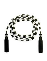 GoFit® Black & White Beaded Jump Rope
