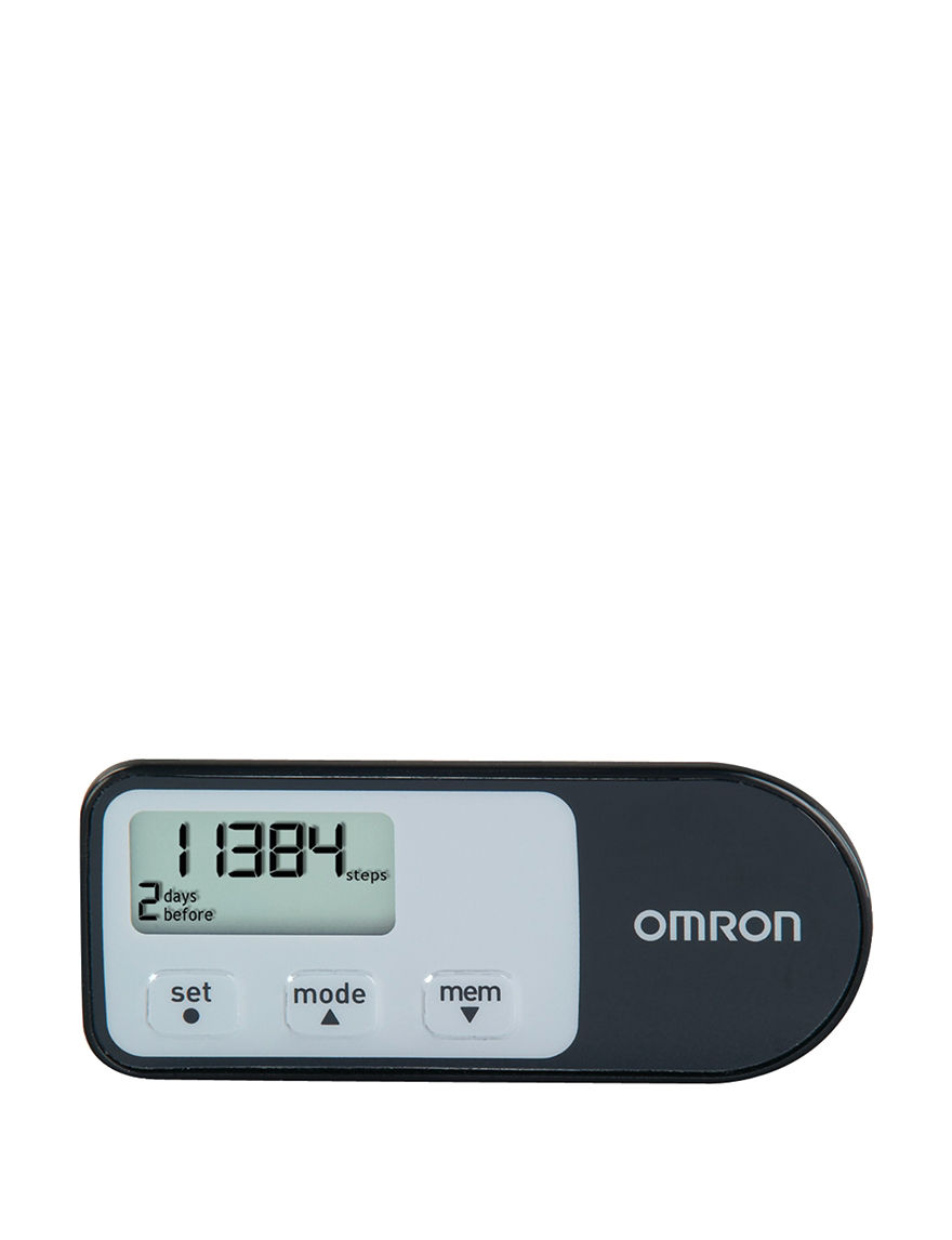 Black Pedometers Fitness Tech & Tracking