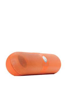 Beats by Dre Bright Orange Speakers & Docks Home & Portable Audio