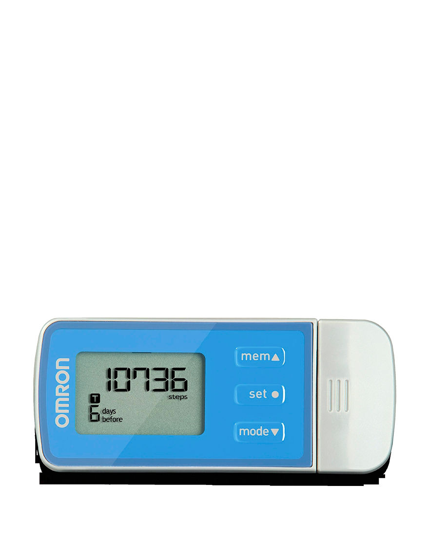 Blue Pedometers Fitness Tech & Tracking