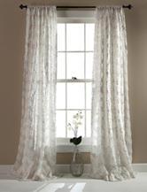 LushDecor Giselle Ivory Window Single Panel