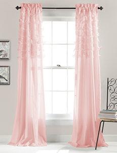 Lush Decor Pink Curtains & Drapes