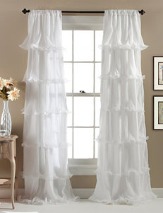 Lush Decor White Curtains & Drapes
