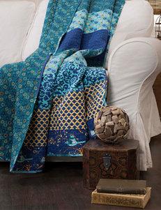 Lush Decor Royal Empire Peacock Throw Blanket