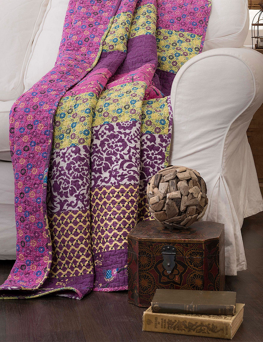Lush Decor Plum Blankets & Throws