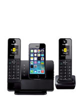 Panasonic Dock Style Telephone with iPhone 5 Integration Capability