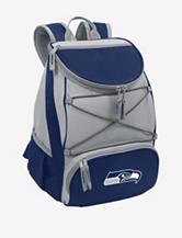 Seattle Seahawks PTX Blue & Gray Backpack Cooler