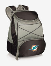 Miami Dolphins PTX Black & Gray Backpack Cooler