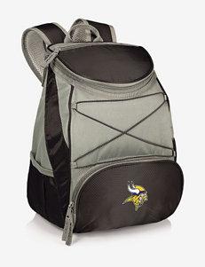 Minnesota Vikings PTX Black & Gray Backpack Cooler