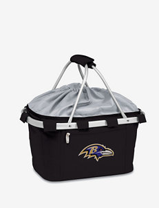 Baltimore Ravens Black Metro Cooler Basket