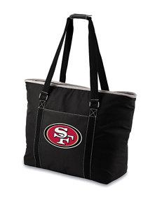 San Francisco 49ers Black Cooler Tote