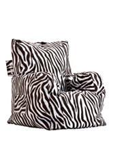 Comfort Research Big Joe Zebra Print Cuddle Chair