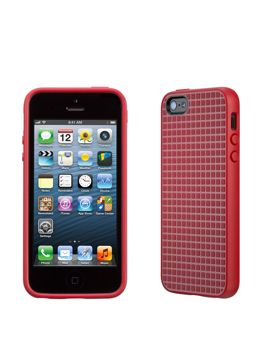 Speck Red Cases & Covers Tech Accessories