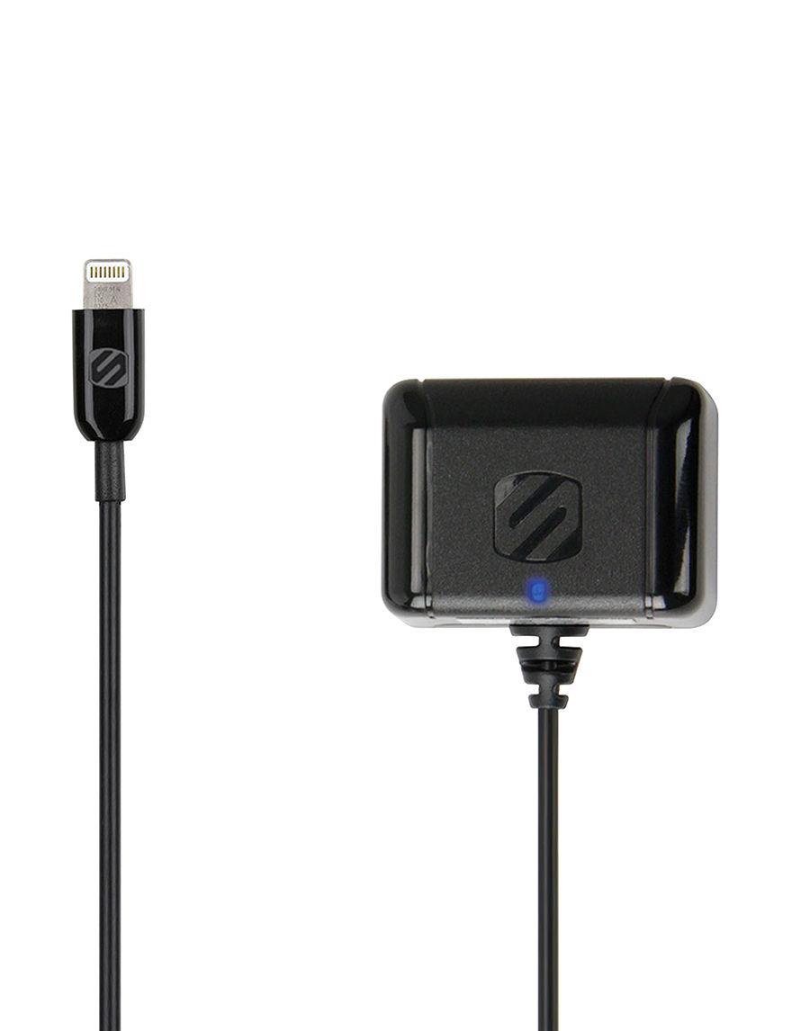 Scosche Black Cables & Outlets Tech Accessories
