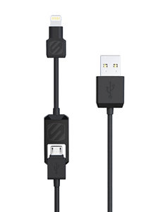 Scosche Black Cables & Outlets Tech Accessories