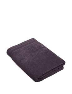 Crowning Touch Solid Color Purple Towel