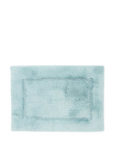 HygroSoft Solid Color Glacier Blue Bath Rug